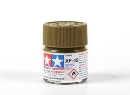 TAMIYA  81749 XF-49 KHAKI ACRYLIC PAINT  UK SALE ONLY