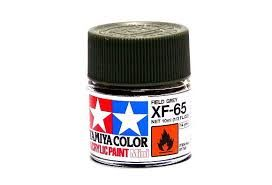 TAMIYA  81765 XF-65 FIELD GREY ACRYLIC PAINT  UK SALE ONLY