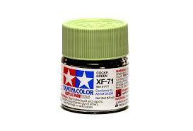 TAMIYA  81771 XF-71 COCKPIT GREEN  IJN  ACRYLIC PAINT  UK SALE ONLY