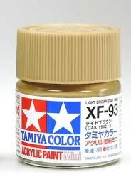 TAMIYA  81793 XF-93 LIGHT BROWN ACRYLIC PAINT  UK SALE ONLY