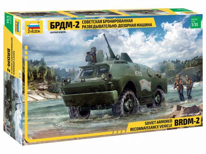 ZVEZDA 1/35 3638 BRDM-2