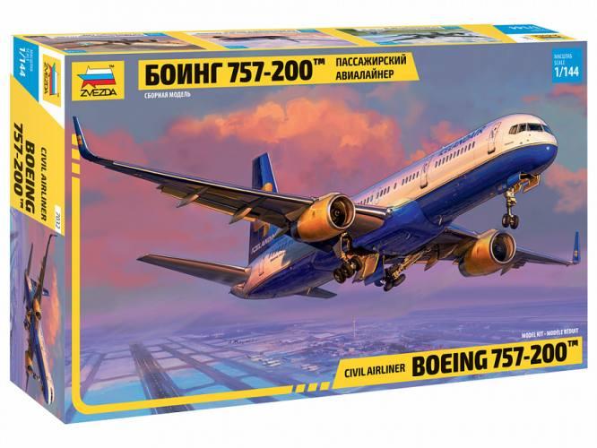 ZVEZDA 1/144 7032 BOEING 757-200