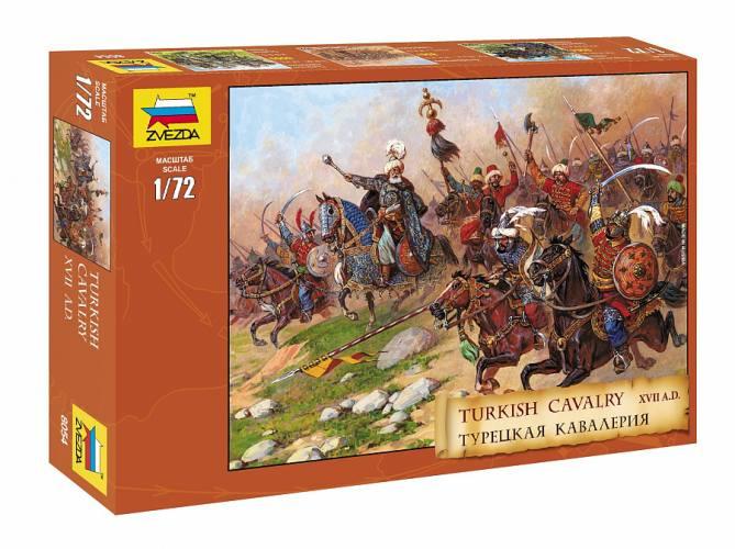 ZVEZDA 1/72 8054 TURKISH CAVALRY 16-17th CENTURY