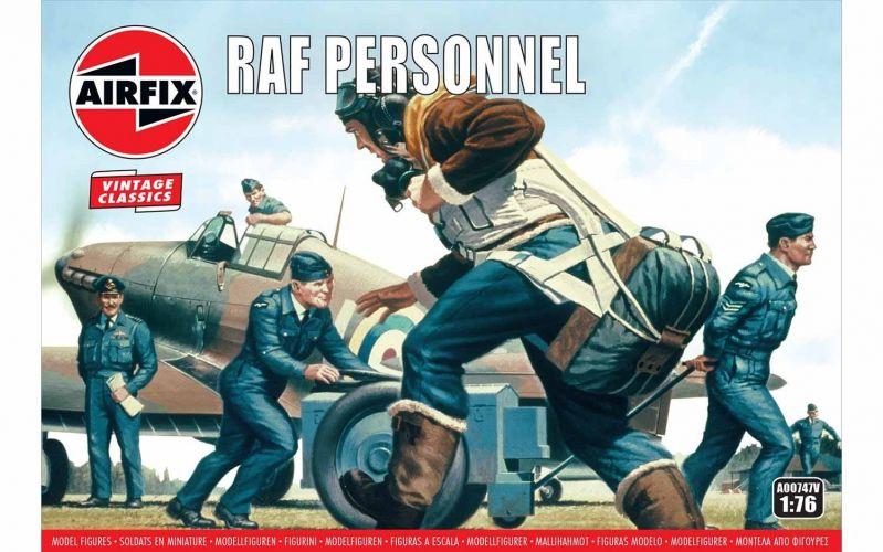 AIRFIX 1/76 A00747V VINTAGE CLASSICS - RAF PERSONNEL