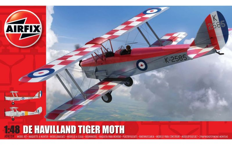 AIRFIX 1/48 04104 DE HAVILLAND TIGER MOTH