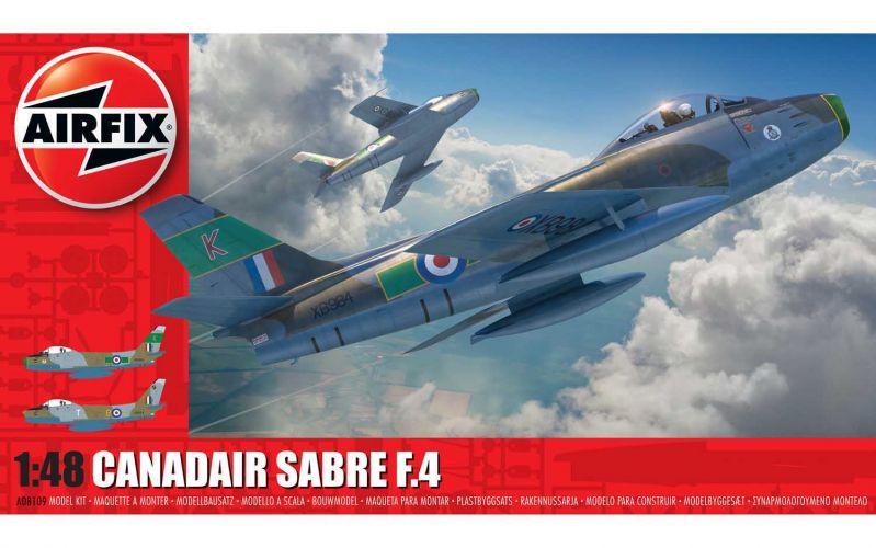 AIRFIX 1/48 08109 CANADAIR SABRE F.4