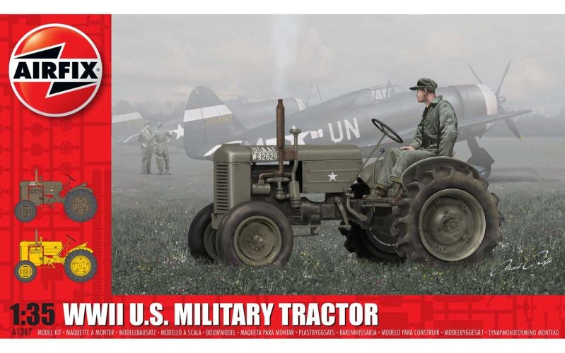 AIRFIX 1/35 1367 WWII US MILITARY TRACTOR