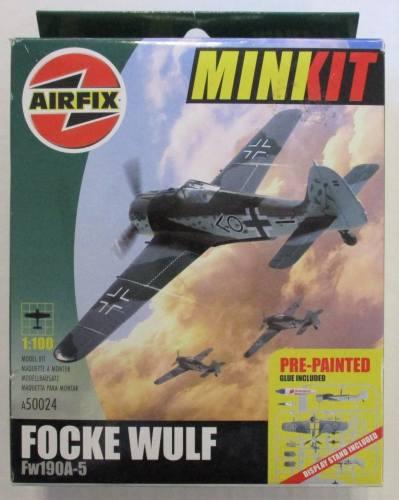 AIRFIX 1/100 50024 MINKIT FOCKE WULF FW190A-5