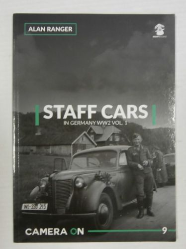 CHEAP BOOKS  ZB3368 STAFF CARS IN GERMANY WW2 VOL. 1