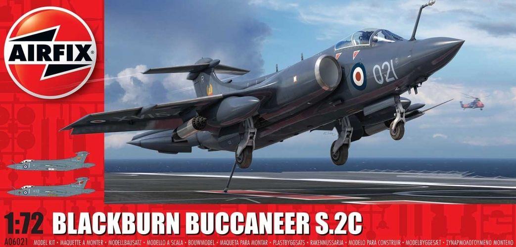 AIRFIX 1/72 06021 BLACKBURN BUCCANEER S.2C