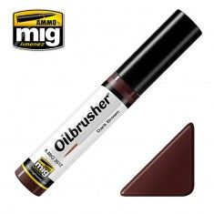 AMMO BY MIG JIMENEZ  3512 DARK BROWN OILBRUSHER