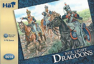 HAT INDUSTRIES 1/72 8014 NAPOLEONIC KINGS GERMAN LEGION LIGHT DRAGOONS
