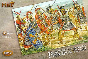 HAT INDUSTRIES 1/72 8017 REPUBLICAN ROMAN PRINCEPS   TRIARI