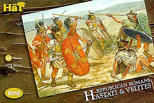 HAT INDUSTRIES 1/72 8018 REPUBLICAN ROMAN HASTATI   VELITES