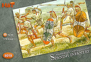 HAT INDUSTRIES 1/72 8019 HANNIBALS CARTHAGINIANS SPANISH INFANTRY