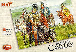 HAT INDUSTRIES 1/72 8021 ROMAN CAVALRY
