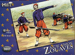 HAT INDUSTRIES 1/32 9001 ACW ZOUAVES