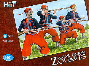 HAT INDUSTRIES 1/32 9101 ZOUAVES SET 2