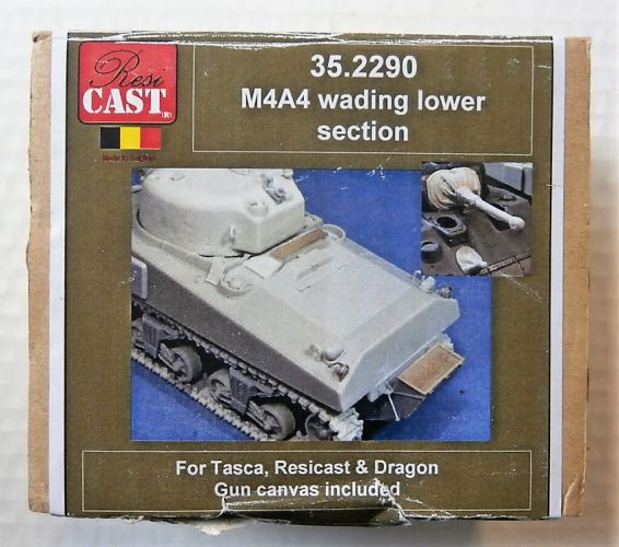 RESICAST 1/35 35.2290 M4A4 WADING LOWER SECTION