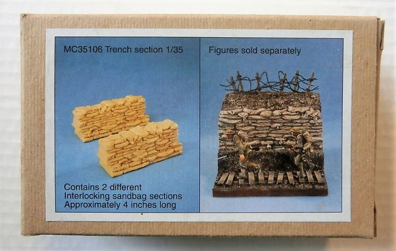 MODEL CELLAR PRODUCTIONS 1/35 35106 TRENCH SECTION