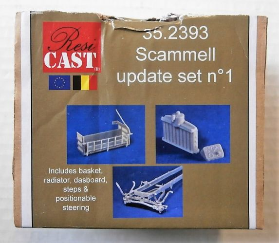 RESICAST 1/35 35.2393 SCAMMELL UPDATE SET No1