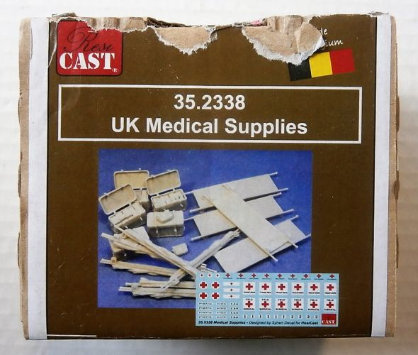 RESICAST 1/35 2338 UK MEDICAL SUPPLIES