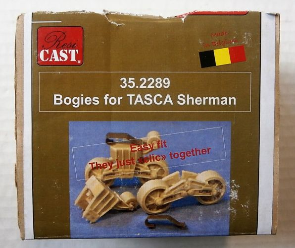 RESICAST 1/35 35.2289 BOGIES FOR TASCA SHERMAN
