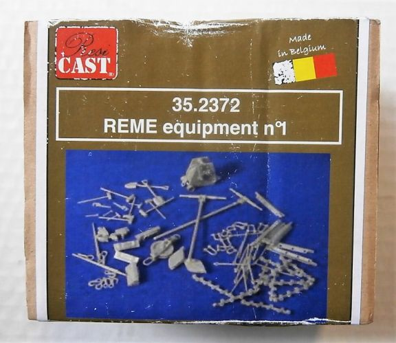 RESICAST 1/35 35.2372 REME EQUIPMENT No1