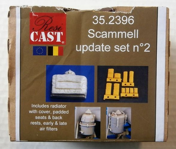 RESICAST 1/35 2396 SCAMMELL UPDATE SET No 2