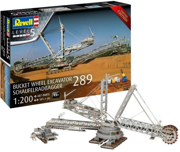 REVELL 1/200 05685 BUCKET WHEEL EXCAVATOR SCHAUFELRADBAGGER  UK SALE ONLY