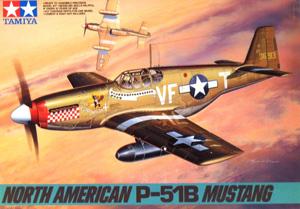 TAMIYA 1/48 61042 NORTH AMERICAN P-51B MUSTANG
