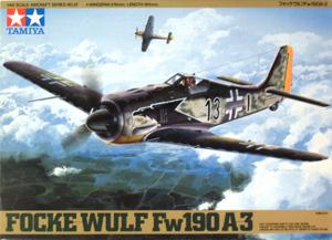 TAMIYA 1/48 61037 FOCKE WULF Fw 190A-3