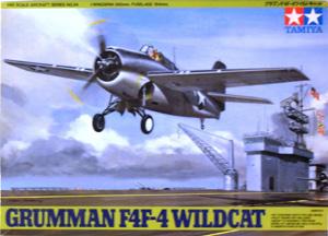 TAMIYA 1/48 61034 GRUMMAN F4F-4 WILDCAT