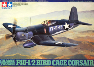 TAMIYA 1/48 61046 CHANCE VOUGHT F4U-1/2 BIRD CAGE CORSAIR