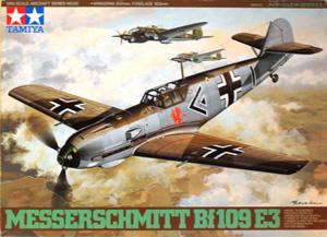 TAMIYA 1/48 61050 MESSERSCHMITT Bf 109E-3
