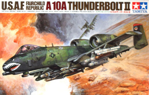 TAMIYA 1/48 61028 FAIRCHILD REPUBLIC A-10A THUNDERBOLT II UPDATED