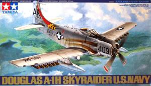 TAMIYA 1/48 61058 DOUGLAS A-1H SKYRAIDER USN