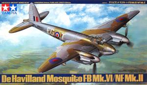 TAMIYA 1/48 61062 DE HAVILLAND MOSQUITO FB Mk.VI/NF Mk.II