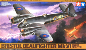 TAMIYA 1/48 61064 BRISTOL BEAUFIGHTER Mk.VI NIGHTFIGHTER