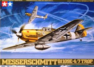 TAMIYA 1/48 61063 MESSERSCHMITT Bf 109E4/7 TROP