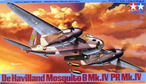 TAMIYA 1/48 61066 De HAVILLAND MOSQUITO B Mk.IV/PR Mk.IV