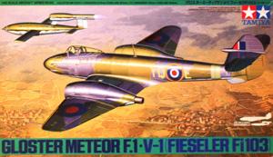 TAMIYA 1/48 61065 GLOSTER METEOR F.1 / V-1 FLYING BOMB