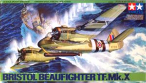 TAMIYA 1/48 61067 BRISTOL BEAUFIGHTER TF.Mk.X