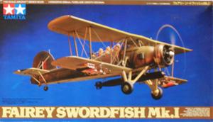 TAMIYA 1/48 61068 FAIREY SWORDFISH Mk.I