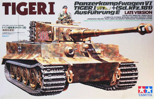 TAMIYA 1/35 35146 TIGER I LATE VERSION