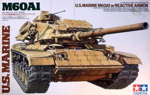 TAMIYA 1/35 35157 US MARINE M60 A1 REACTIVE ARMOUR