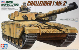 TAMIYA 1/35 35154 CHALLENGER 1  Mk.3