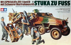 TAMIYA 1/35 35151 Sd.Kfz 251/1 STUKA ZU FUSS