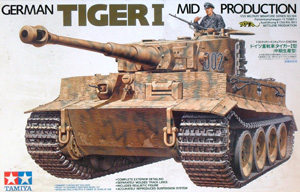 TAMIYA 1/35 35194 GERMAN TIGER I Ausf.E MID PRODUCTION