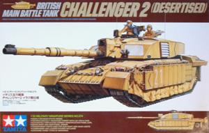 TAMIYA 1/35 35274 CHALLENGER 2 DESERTISED